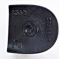 Каблук женский пластиковый 8512 р.1-3  h-7,6-8,2см., фото 3