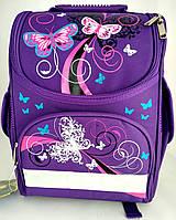 Шкільний ранець каркасний (портфель) фіолетовий GELIYAZI  (Z-01)