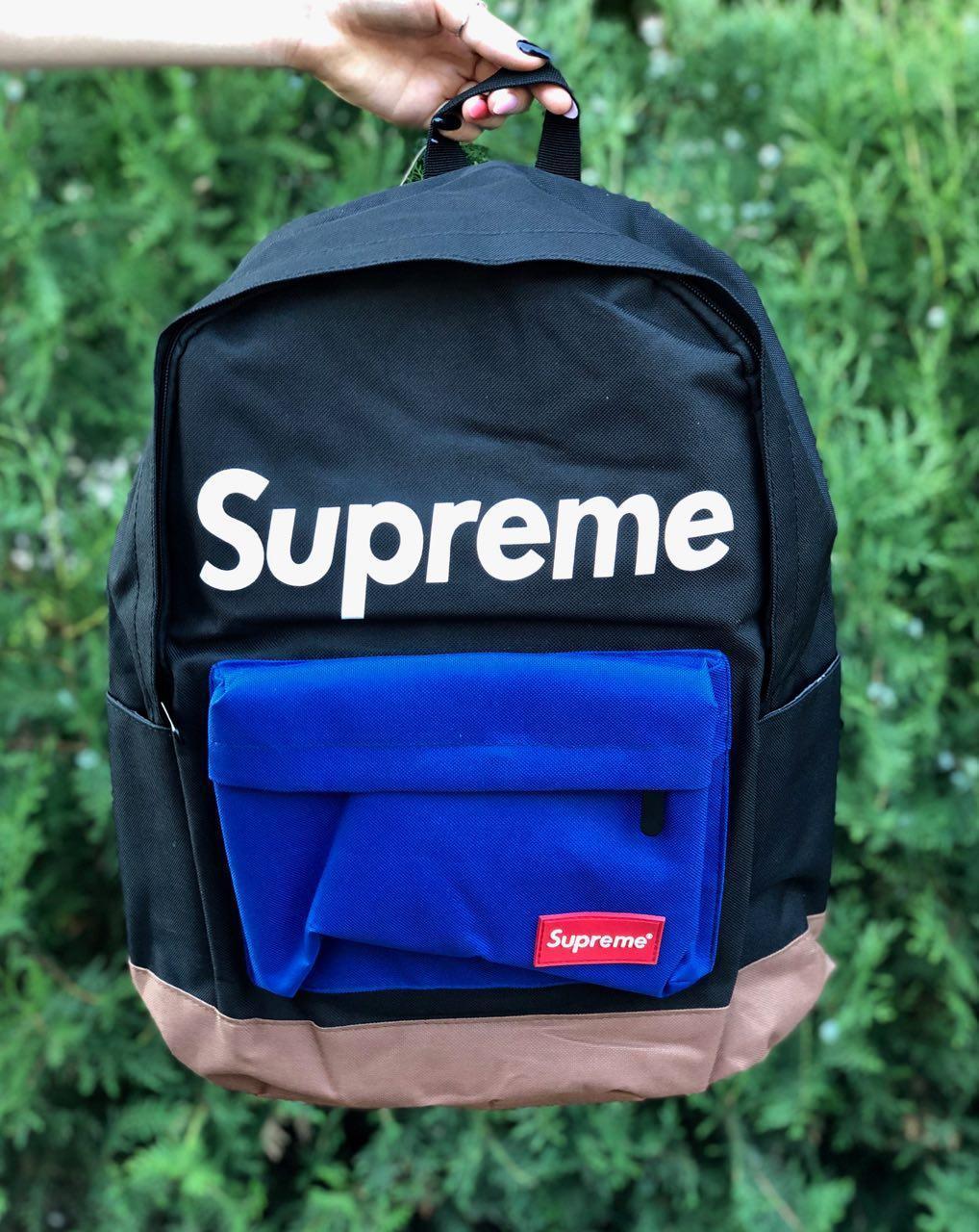 Рюкзак Supreme - синий