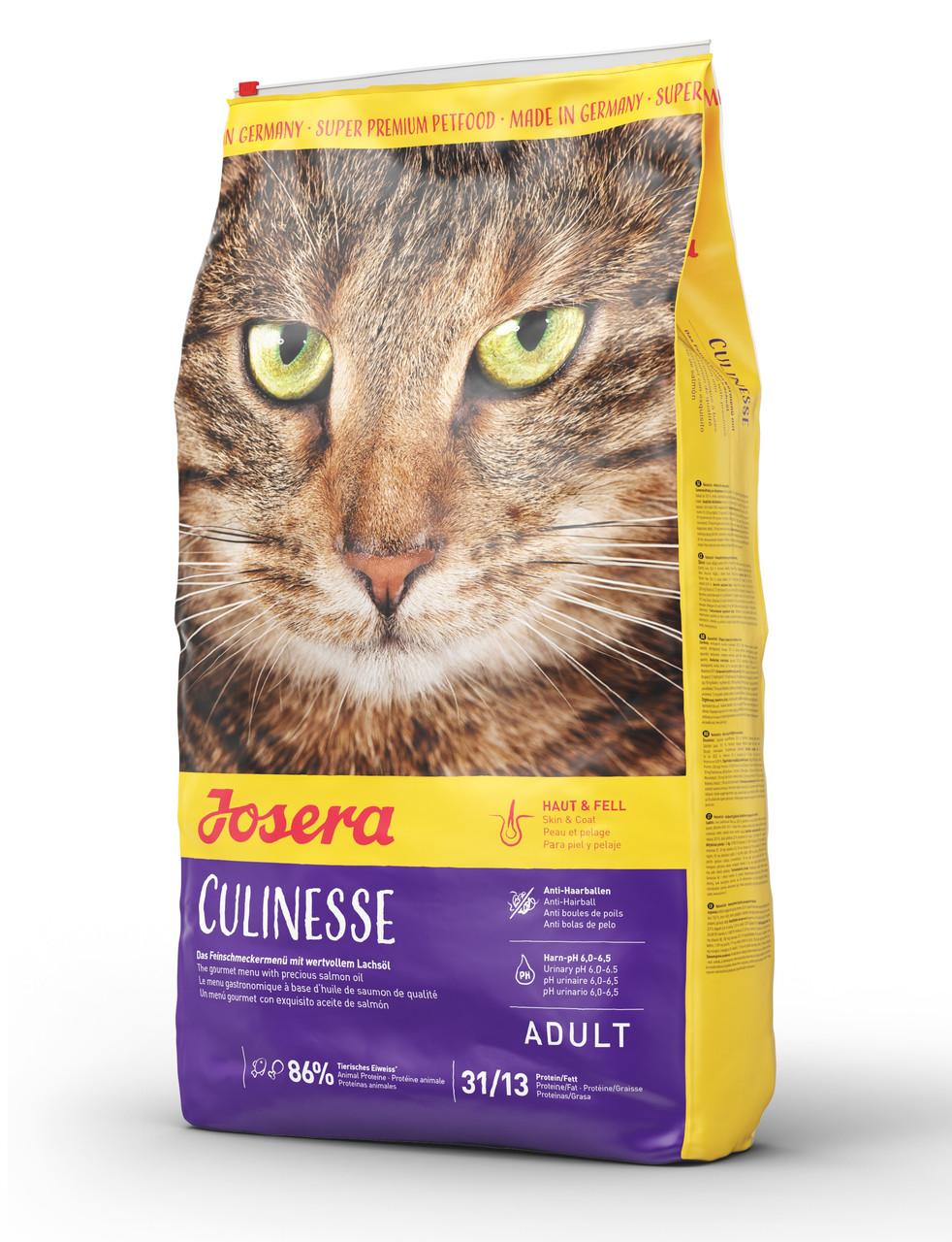 Сухой корм Josera Cat Culinesse для взрослых кошек с лососем 2 кг