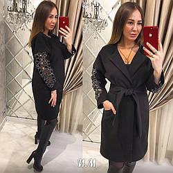Женское модное кашемировое пальто РАЗНЫЕ ЦВЕТА код. Н405-0560