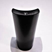 Каблук женский пластиковый 1051 матовый р.1-3  h-9,5-10,2 см., фото 3