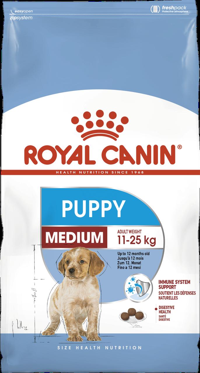 Корм для щенков средних пород Royal Canin MEDIUM PUPPY 1 кг