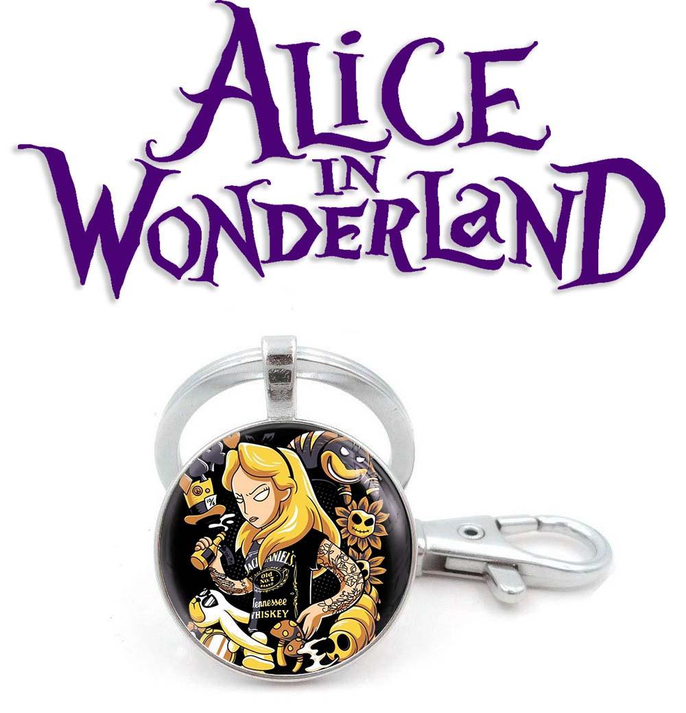 Брелок Алисаbad ass Алиса в стране чудес / Alice in Wonderland