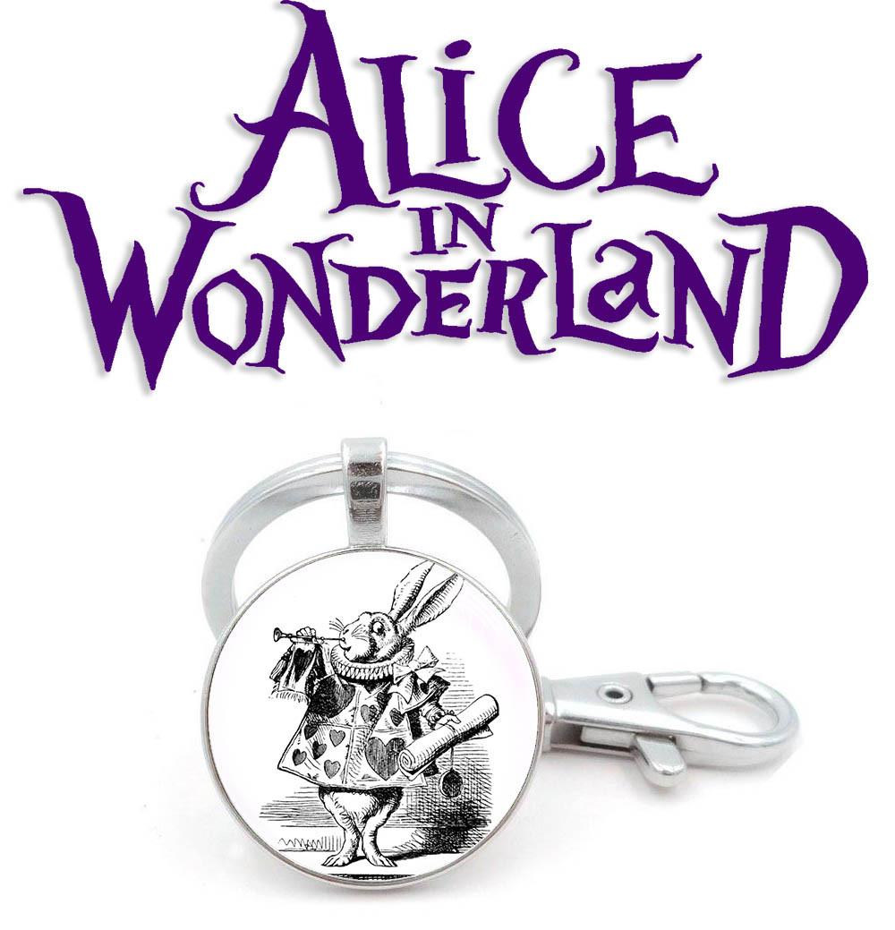 Брелок Мартовский Заяц Алиса в стране чудес / Alice in Wonderland