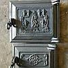 Дверка печная чугунная топочная + поддувальная (КОМПЛЕКТ)