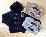 Вязаный свитер  для мальчика 4,6,8,10,12 лет