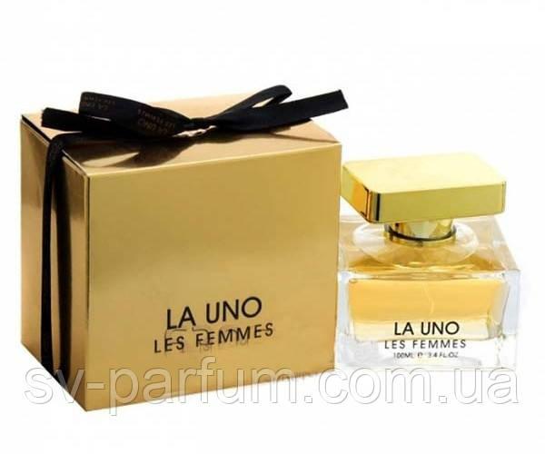 Парфюмированная вода женская La Uno Les Femmes 100ml
