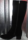 Сапоги женские зимние на каблуке от производителя модель РИ1840, фото 7