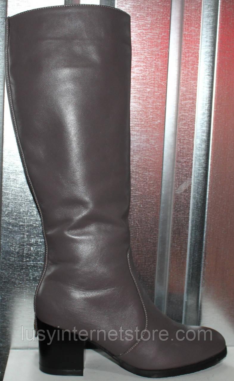 Сапоги женские зимние на каблуке от производителя модель РИ1840