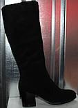 Сапоги женские зимние на каблуке от производителя модель РИ1840, фото 5