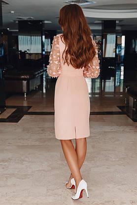 Стильное женское нарядное платье, фото 2