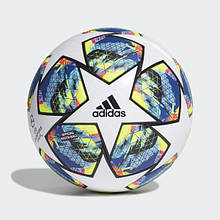 Мяч футбольный официальный Adidas Finale 20 OMB DY2560 Белый с синим