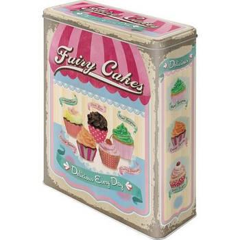Коробка для хранения Nostalgic-Art Fairy Cakes - Cup Cakes XL (30309)