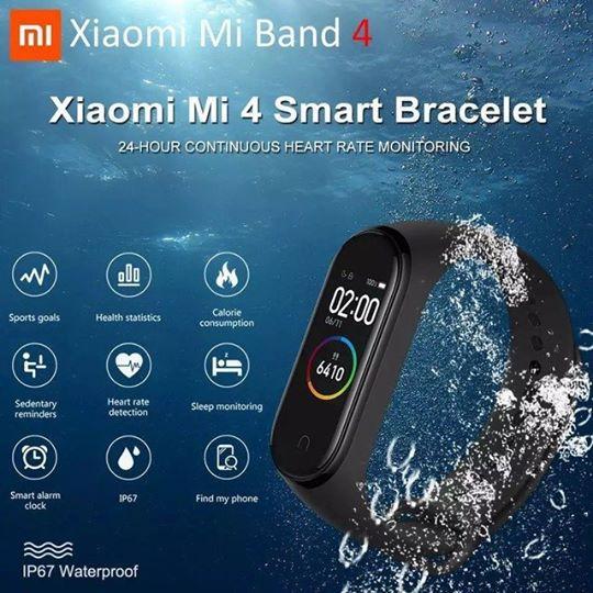 Xiaomi Miband Mi Band 4 Фитнес трекер браслет. NEW 2019!(копия)