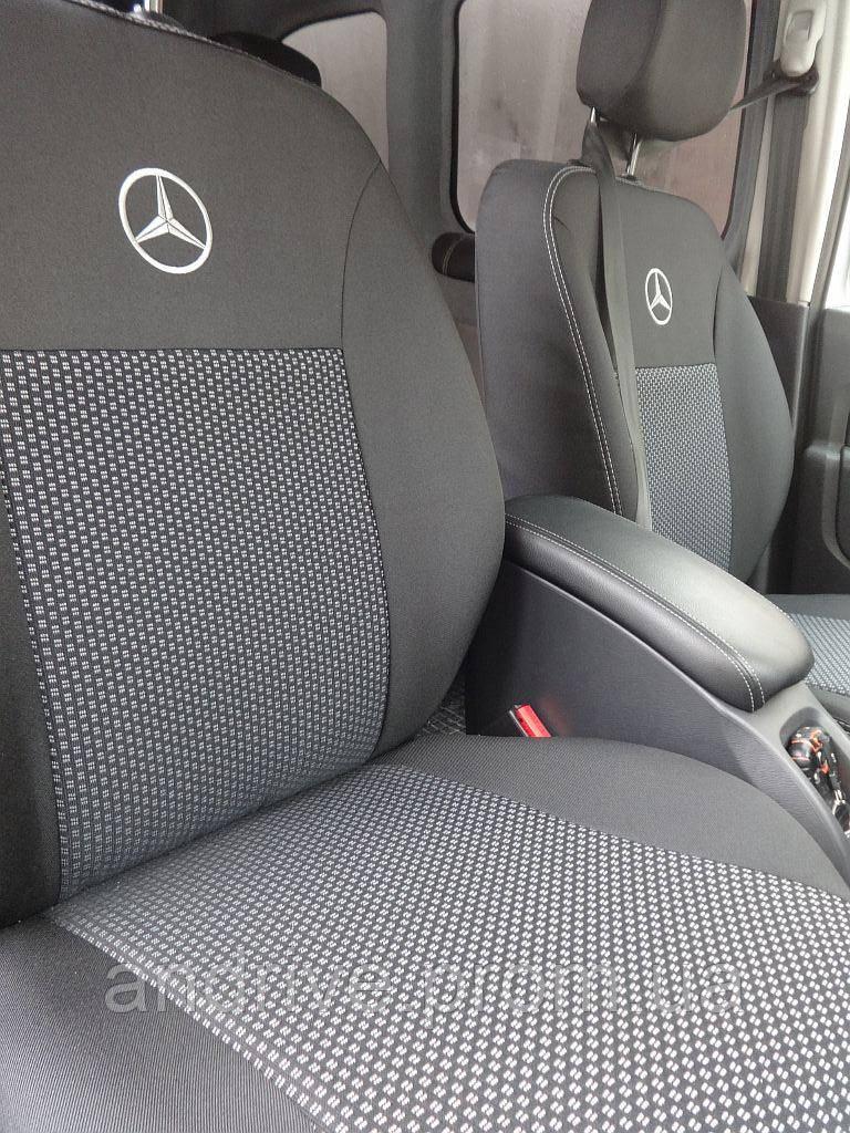 Авточехлы Mercedes Vito (1+1/2/3) 7 мест с 2003 г