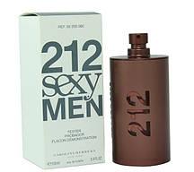 100 мл Тестер Carolina Herrera 212 Sexy Men (м)