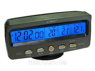 Часы для авто | Автомобильные часы | Часы автомобильные VST-7045V