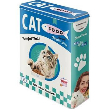 Коробка для хранения Nostalgic-Art Cat Food XL (30329)