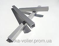 Алюминиевый профиль Анод. Квадратная труба 20 х 20 х 1,5 мм.