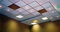 Встановлення растрового світильника