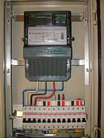 Встановлення та підключення 3ф лічильника електроенергії