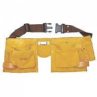 Пояс слесарный (кожаный) 11 карманов Grad 9450765