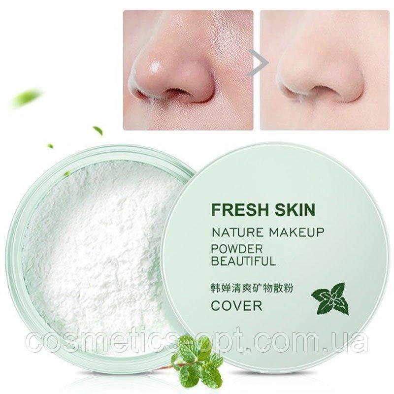 Бесцветная минеральная пудра для матирования ROREC No-Sebum Fresh Mineral Powder, 5 g
