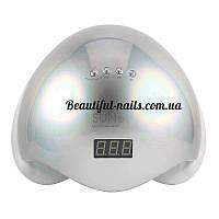 Новинка!Профессиональная LED-лампа для сушки гелей и гель лаков SUN 5 48 вт хамелеон(серебро), фото 1