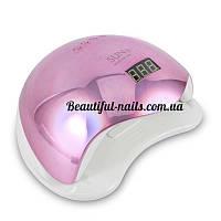 Новинка!Профессиональная LED-лампа для сушки гелей и гель лаков SUN 5 48 вт хамелеон(розовый), фото 1