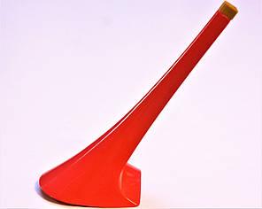 Каблук женский пластиковый 9112 кораловый р.1-3  h-12,0-12,8 см., фото 2