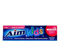 Aim Kids Mega Bubble-berry зубная паста для детей 136 g