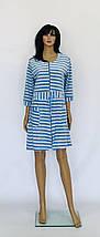 Велюровые халаты на молнии с шнурком, фото 3