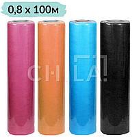 Простыни одноразовые 0,8х100м Econom Цветные (20 г/м²)