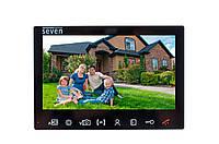 Видеодомофон AHD Seven DP-7575FHD black, фото 1