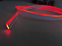 Мини Лед Неон Гибкий 12V Красный 13*5мм IP68, фото 1