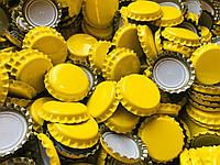 Пробка пивная, желтая (EU), 100шт.