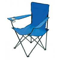 Кресло раскладное STENSON Паук с подстаканником голубое