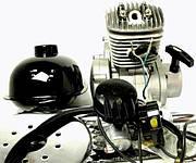 велодвигатель 80cc, веломотор купить в харькове, купить веломотор ф80, веломотор f80 с ручным стартером, велодвигатель 80cc, двигатель на велосипед купить украина