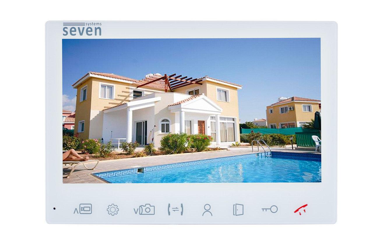 Видеодомофон AHD Seven DP-7575FHD white