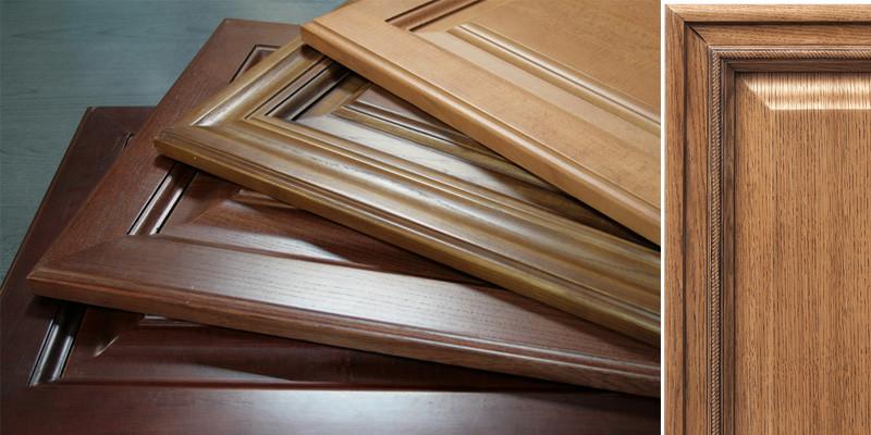 Кухонні фасади з дерева вільхи від виробника в Україні!