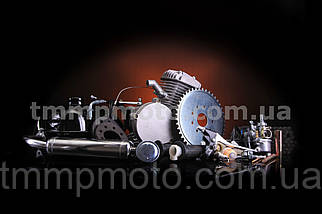 Велодвигатель 80cc со стартером, фото 2