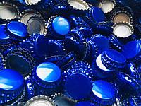Пробка пивная, синяя (EU), 100шт.