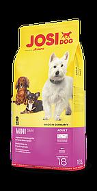 Сухой корм для взрослых собак мини пород JosiDog Mini 18 кг