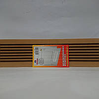 Вентиляционная решетка дверная 100х450 мм, фото 1
