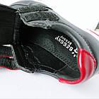 Дитячі кеди хлопчикам, 28 розмір, устілка 17,7 см, темно-сині кросівки туфлі на липучках, фото 9