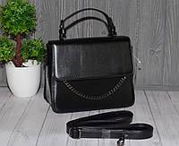 Женская сумочка в деловом стиле, каркасная, фото 1