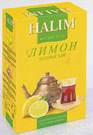"Чай ""Halim"" 80г Чорний з Лимоном (1/16)"