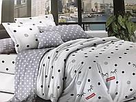 Семейное постельное белье из Ранфорс Абстрактные кружочки