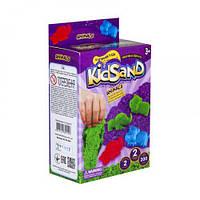 Кинетический песок  KidSand: Животные  с формочками, KS-05-06U, 200 г (укр)